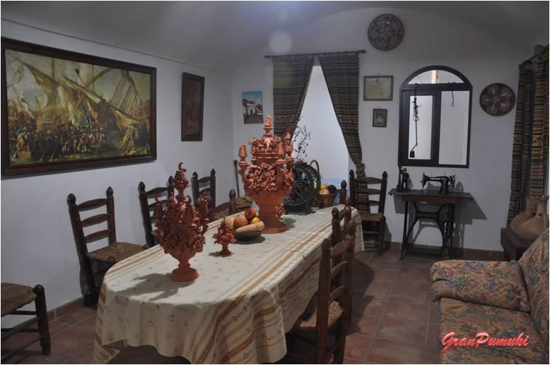 interior de una casa en Guadix, turismo rural en Granada