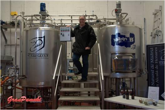 Fabrica cerveza Enigma de Alcalá de Henares