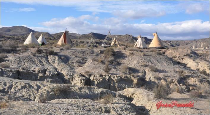 Desierto de Tabernas en Almería