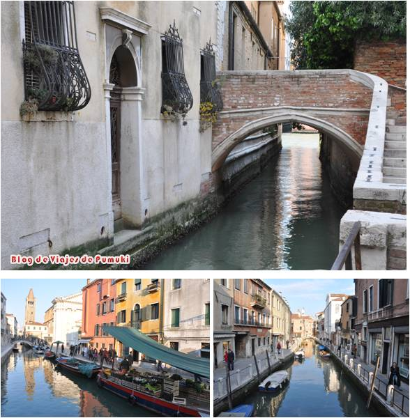 Barrio del Dorsoduro en Venecia, un barrio mas tranquilo y lleno de rincones por descubrir.