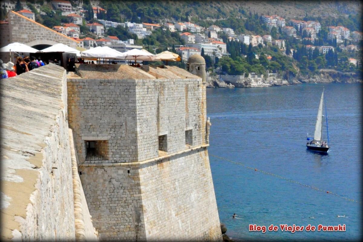Vista desde las murallas de Dubrovnik