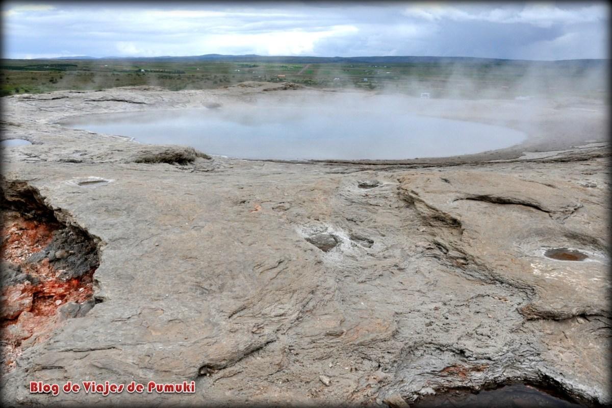 Crater del Gran Geysir
