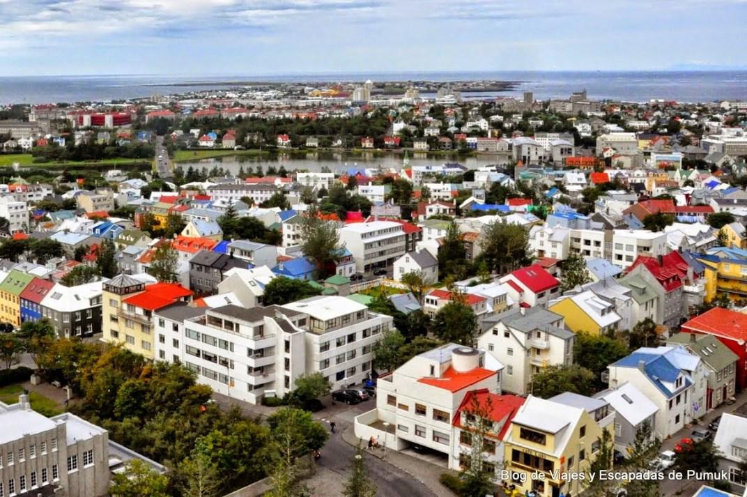 Tejados de colores de Reikiavik
