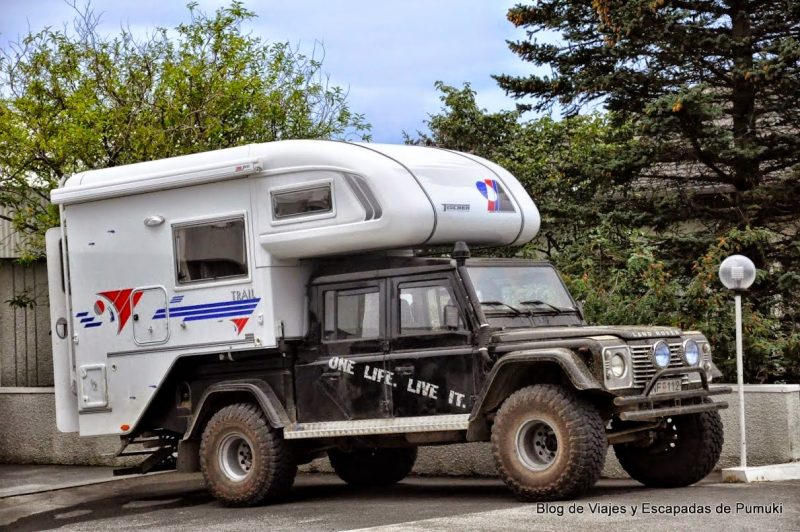Caravana todo terreno en Islandia