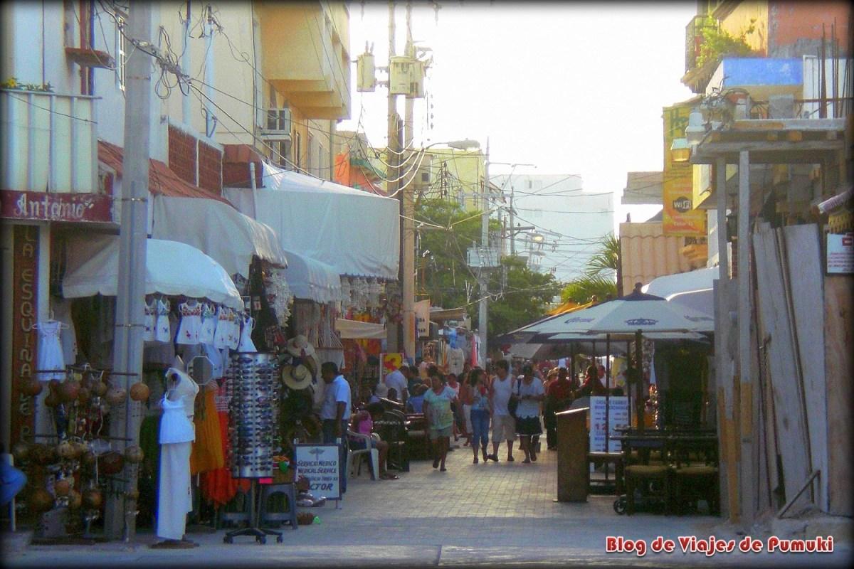 Calle de Isla Mujeres, Riviera Maya