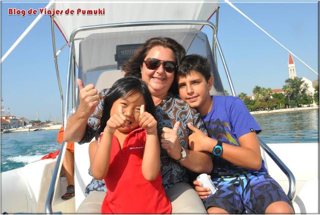Excursión para toda la familia en lancha rápida a Vis y Bisevo en Croacia