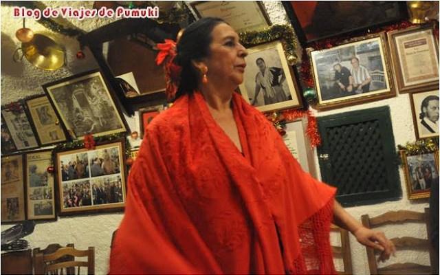 Flamenco en la Zambra de María la Canastera, en Granada. Blog