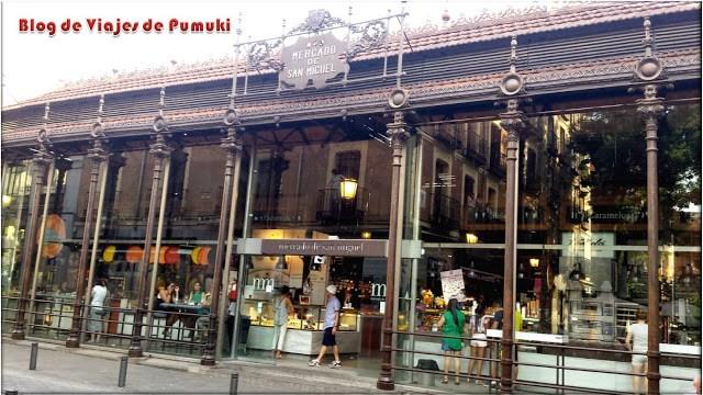 El Mercado gourmet de San Miguel en Madrid sirve de descanso despues del paseo en segway por el Madrid de los Austrias