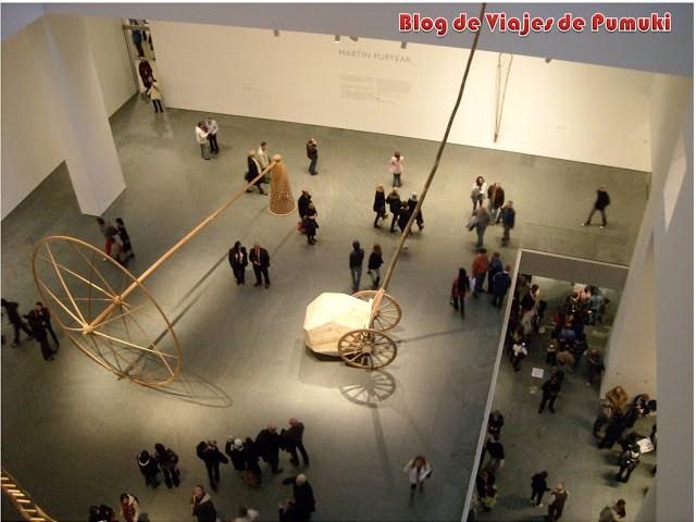Amplios espacios para la exposición de las obras en el MoMA de Nueva York