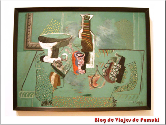 Naturaleza Muerta Verde de Picasso en el Moma