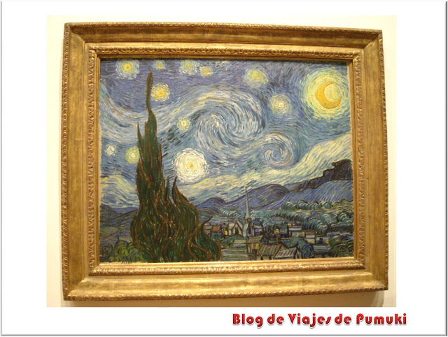 Vincent Van_Gogh, La Noche Estrellada en el MoMa