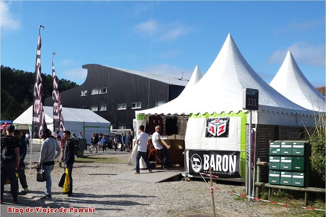Las Carpass de Hossegor en las Landas francesas. Mercado outlet en Semana Santa