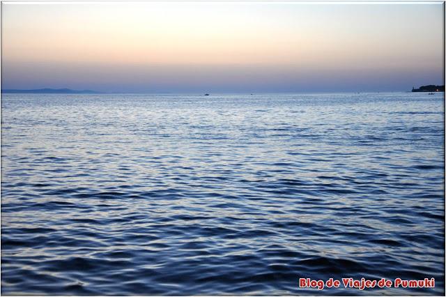 Puesta de Sol en Zadar, Croacia