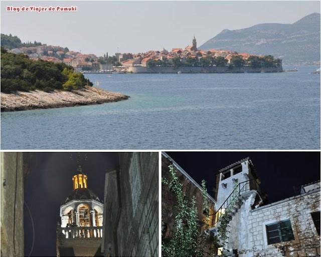 Isla de Korcula en una excursión desde Dubrovnik viajando en familia y con niños