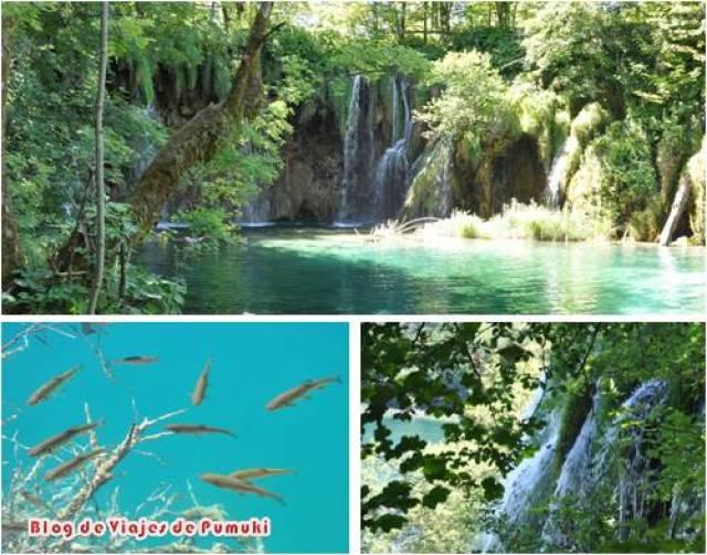 Parque Nacional de los Lagos de Plitviche. Patrimonio de la Humanidad. Imprescindible para un viaje por Croacia con niños