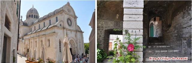 Catedral de Santiago en Sivenik, Croacia. Patrimonio de la Humanidad por la UNESCO.