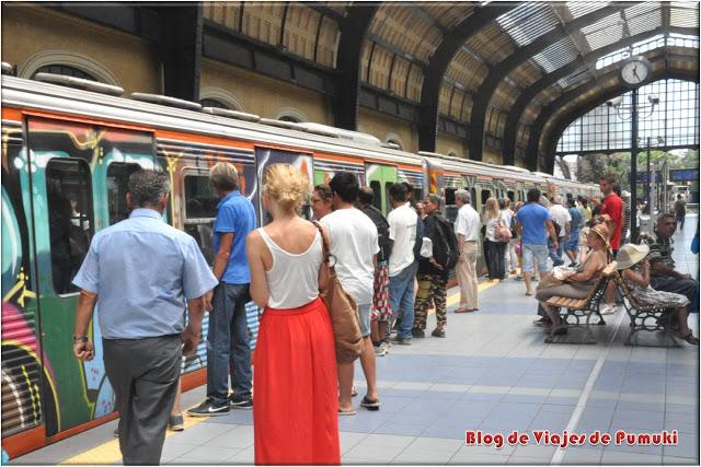 El metro del Pireo a Atenas