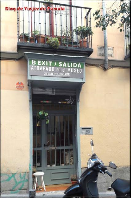 Escape room Exit/Salida ofrece Atrapado en el Museo.