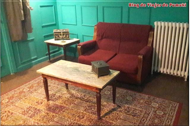 Interior de una sala de Escapismo o Escape Room en Madrid
