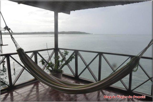 Amaca en Bocas del Toro, Panamá