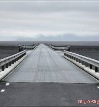 Puentes de un carril en Islandia