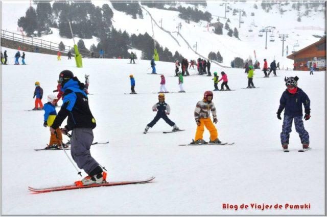 Los Esquiadores Principiantes o novatos necesitan buenos consejos
