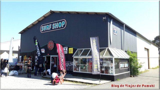 Tienda de surf en Hossegor. Surf Shop