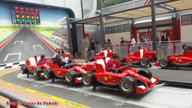Para los niños en Ferrari Land est´´a el Junior Championship