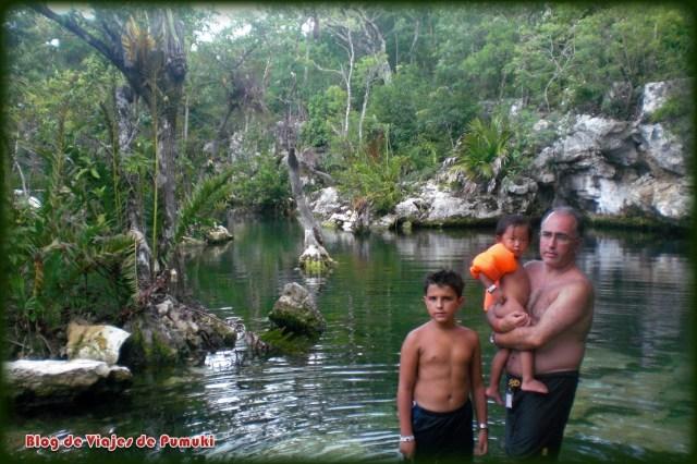 Cenotes en familia en Riviera Maya, Yucatán