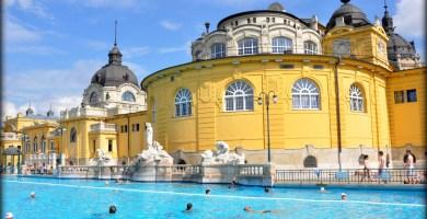 Edificios históricos del balneario Széchenyi, Budapest