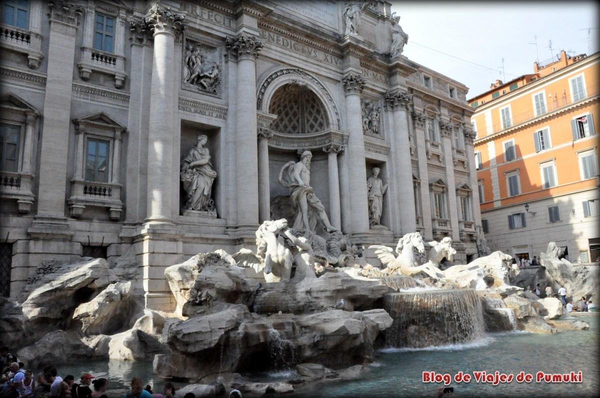 Fontana-de Trevi, Roma