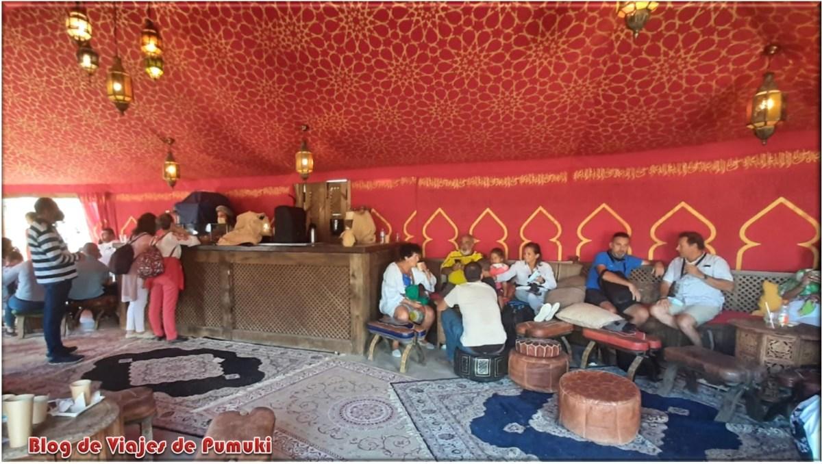 Teteria en el Pueblo del Alkar Andalus