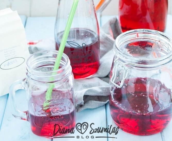 Lemoniada z hibiskusa – zdrowa alternatywa dla napojów