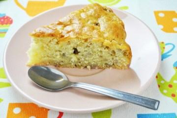 Najłatwiejsze ciasto w świecie, czyli placek jabłkowo bananowy