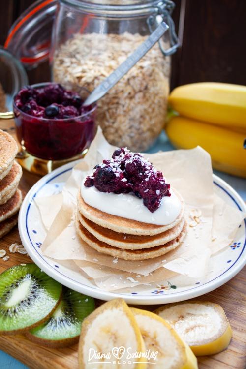 Idealne pancakes zamiast owsianki