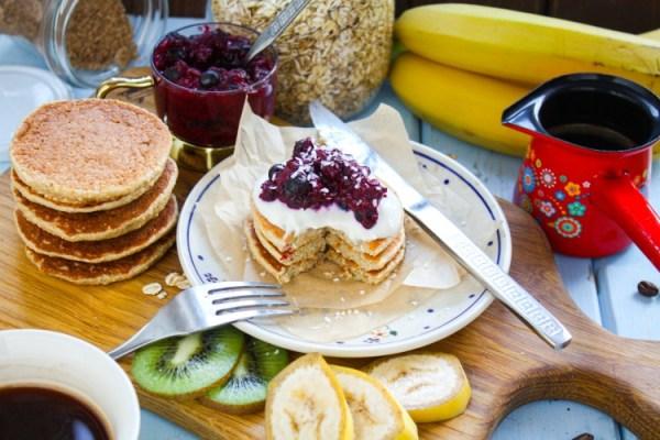 Idealne pancakes owsiane