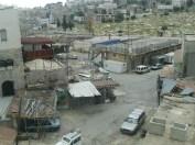 Vue d'Hébron à partir des toits