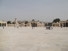 Esplanade des mosquées/ Mont du Temple et mosquée Al-Aqsa