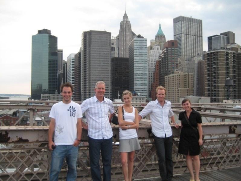 ¨hele familien i new york 2008