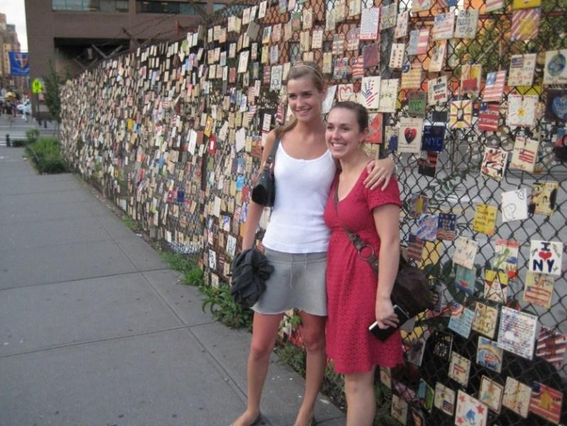 Kelly og mette i new york tre år senere