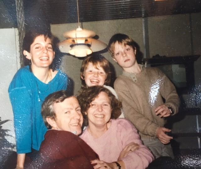 dansk værtsfamilie i 80'erne