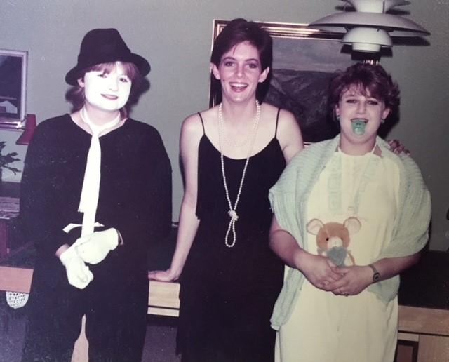 udklædning i 80'erne