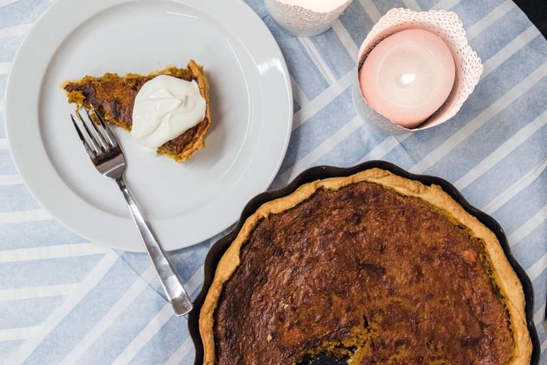 Græskartærte til thanksgiving