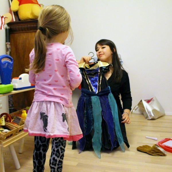 alle kan klæde sig ud som prinsesser