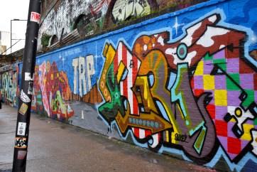 Translational Medicine Class on Street Art Tour