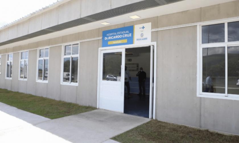 Hospital Estadual Ricardo Cruz: unidade recebeu equipamentos alugados da empresa Medbrasil Especialistas