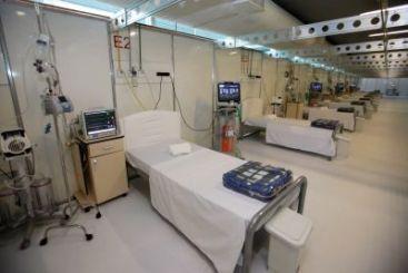 Hospital de campanha em Belém