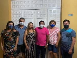 Visita a familia Brandão e Guimarães em Capanema/PA