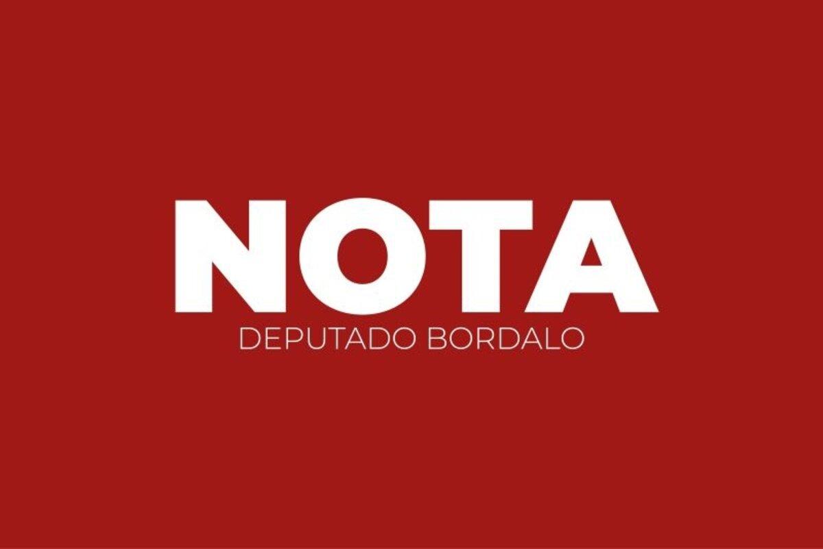 Nota deputado Bordalo