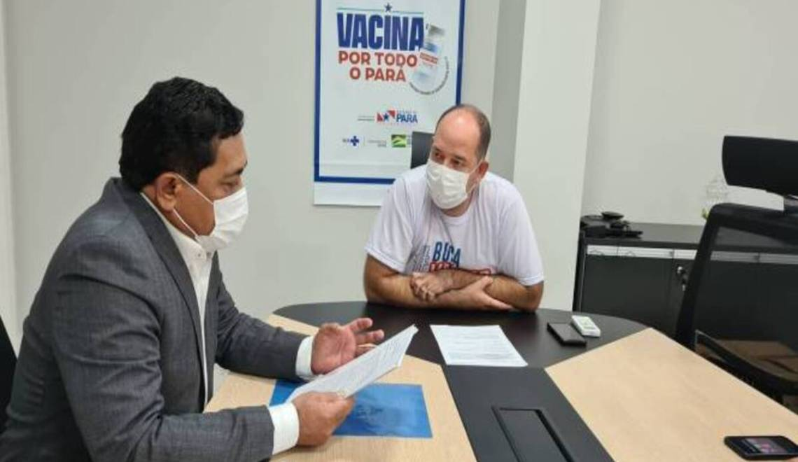 Blog do Bordalo O Deputado Bordalo fala das emendas ao gestor da Sespa